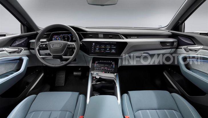 Audi e-tron Sportback: il SUV elettrico che unisce efficienza e prestazioni - Foto 1 di 10