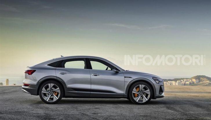 Audi e-tron Sportback: il SUV elettrico che unisce efficienza e prestazioni - Foto 2 di 10