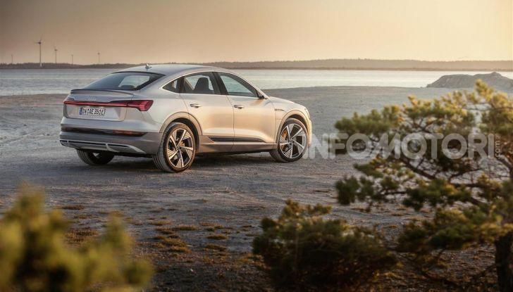 Audi e-tron Sportback: il SUV elettrico che unisce efficienza e prestazioni - Foto 3 di 10
