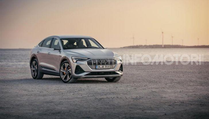 Audi e-tron Sportback: il SUV elettrico che unisce efficienza e prestazioni - Foto 4 di 10