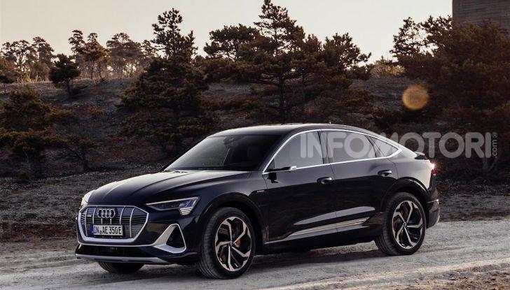 Audi e-tron Sportback: il SUV elettrico che unisce efficienza e prestazioni - Foto 5 di 10