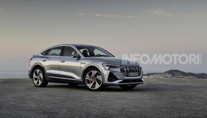 Audi e-tron Sportback: il SUV elettrico che unisce efficienza e prestazioni - Foto 6 di 10