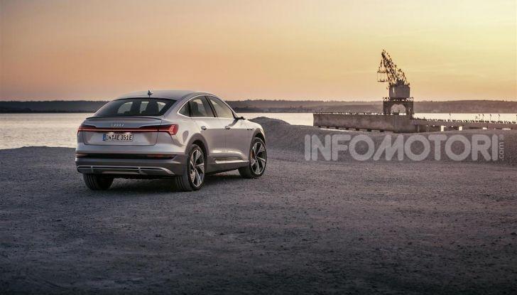 Audi e-tron Sportback: il SUV elettrico che unisce efficienza e prestazioni - Foto 7 di 10