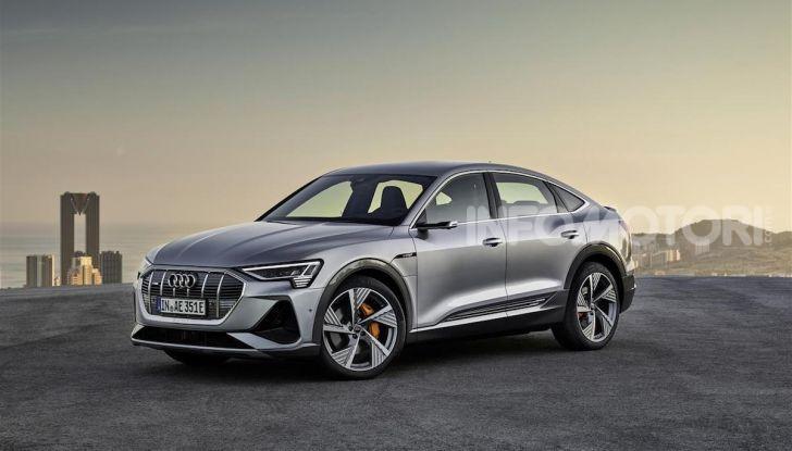 Audi e-tron Sportback: il SUV elettrico che unisce efficienza e prestazioni - Foto 8 di 10