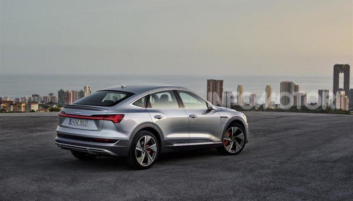 Audi e-tron Sportback: il SUV elettrico che unisce efficienza e prestazioni - Foto 9 di 10