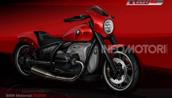 BMW Motorrad Concept R 18 /2: il Custom del futuro ad EICMA 2019 - Foto 2 di 34