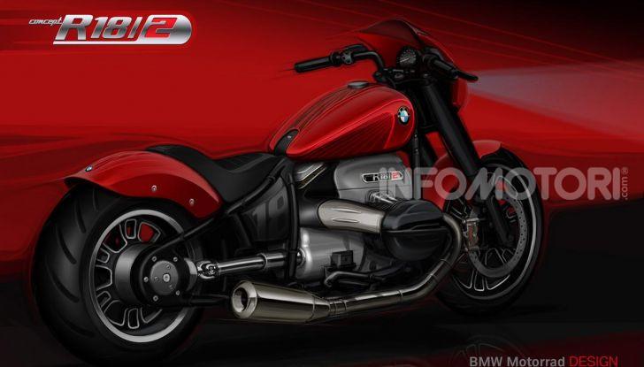 BMW Motorrad Concept R 18 /2: il Custom del futuro ad EICMA 2019 - Foto 3 di 34
