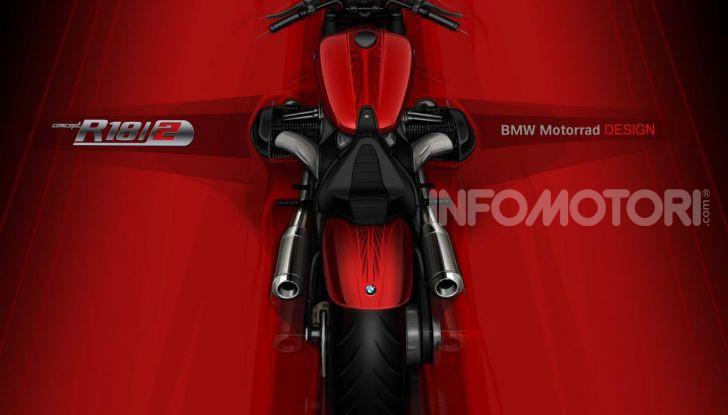 BMW Motorrad Concept R 18 /2: il Custom del futuro ad EICMA 2019 - Foto 4 di 34