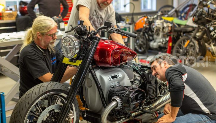 BMW Motorrad Concept R 18 /2: il Custom del futuro ad EICMA 2019 - Foto 34 di 34