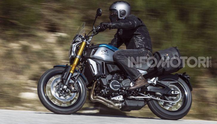 CF Moto 700CL-X: presentata a EICMA la nuova classic di media cilindrata - Foto 12 di 12