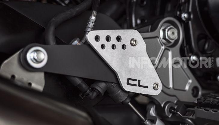 CF Moto 700CL-X: presentata a EICMA la nuova classic di media cilindrata - Foto 6 di 12