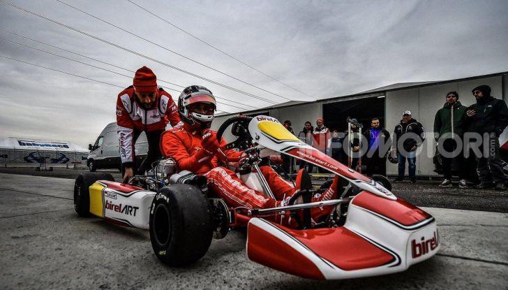 Karting: il ferrarista Charles Leclerc fonda un team di go-kart con BirelART - Foto 3 di 11