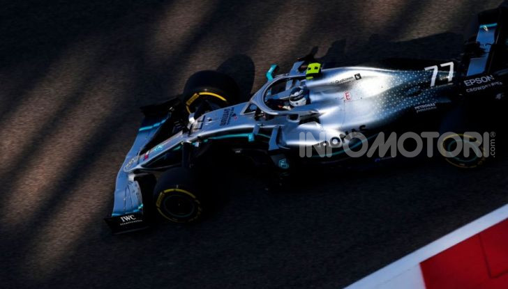 F1 2019, GP di Abu Dhabi: Bottas domina le libere del venerdì, la Ferrari insegue - Foto 2 di 10