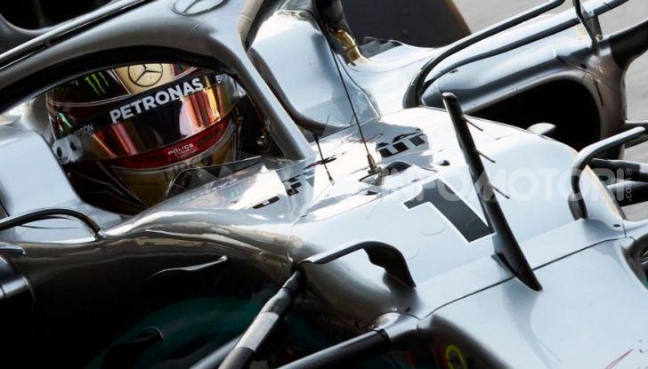 F1 2019, GP di Abu Dhabi: Hamilton vince l'ultima gara della stagione, la Ferrari terza con Leclerc - Foto 5 di 10