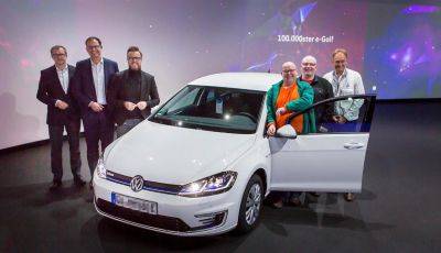 Consegnata a Dresda la Volkswagen e-Golf numero 100.000
