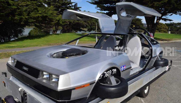DeLorean DMC-12 hovercraft, l'esemplare volante costruito a mano - Foto 2 di 9