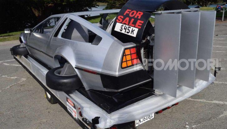 DeLorean DMC-12 hovercraft, l'esemplare volante costruito a mano - Foto 5 di 9