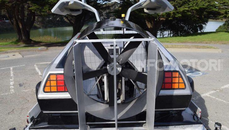 DeLorean DMC-12 hovercraft, l'esemplare volante costruito a mano - Foto 6 di 9