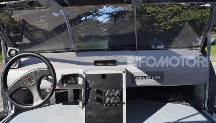 DeLorean DMC-12 hovercraft, l'esemplare volante costruito a mano - Foto 9 di 9