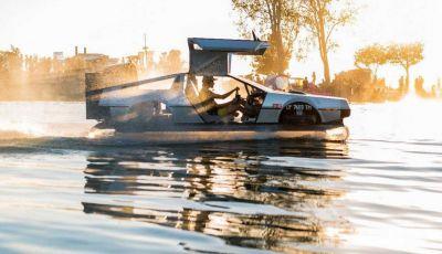 DeLorean DMC-12 hovercraft, l'esemplare volante costruito a mano