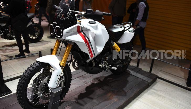 Ducati Scrambler Desert X: ad Eicma 2019 il Concept Enduro in stile Dakar - Foto 2 di 10