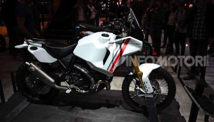 Ducati Scrambler Desert X: ad Eicma 2019 il Concept Enduro in stile Dakar - Foto 3 di 10