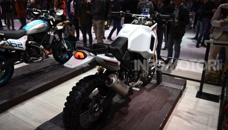 Ducati Scrambler Desert X: ad Eicma 2019 il Concept Enduro in stile Dakar - Foto 4 di 10