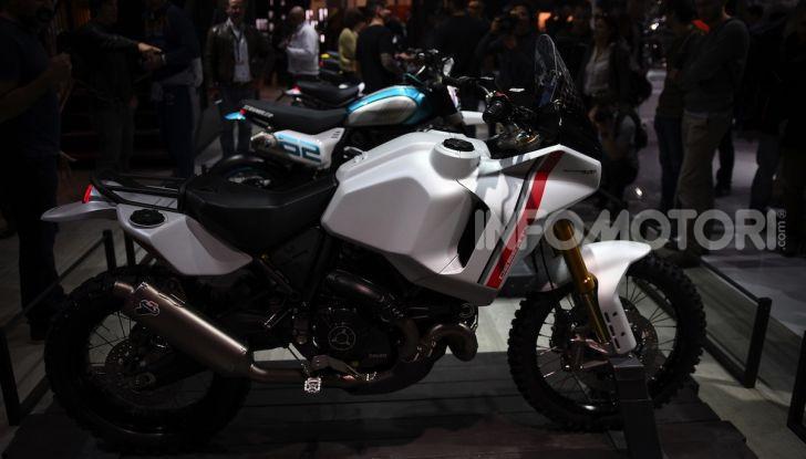 Ducati Scrambler Desert X: ad Eicma 2019 il Concept Enduro in stile Dakar - Foto 6 di 10