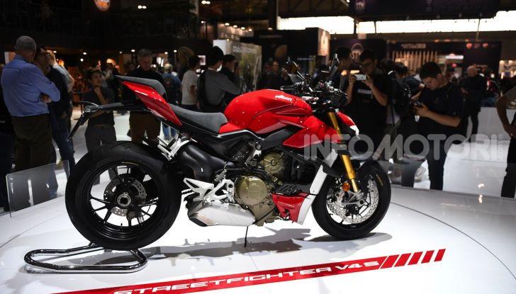 Ducati Streetfighter V4 e V4S: le super-naked da 208 cavalli in stile Panigale - Foto 10 di 40