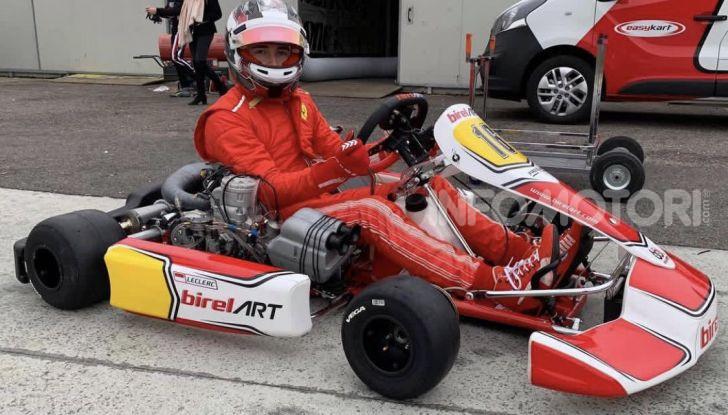 Karting: il ferrarista Charles Leclerc fonda un team di go-kart con BirelART - Foto 2 di 11