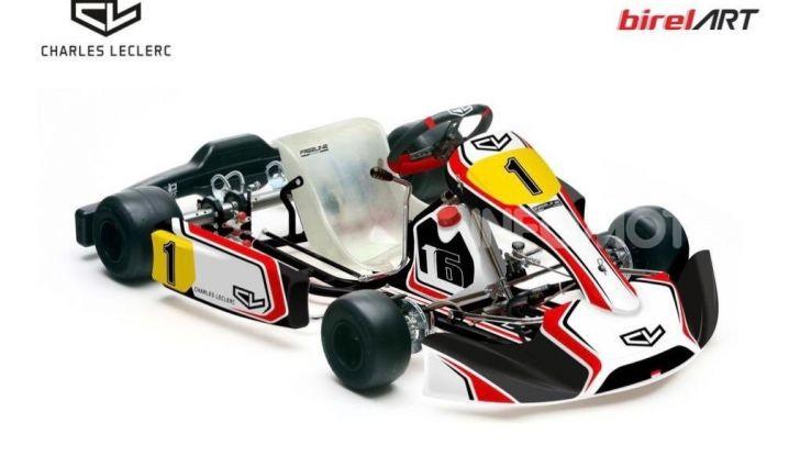 Karting: il ferrarista Charles Leclerc fonda un team di go-kart con BirelART - Foto 6 di 11