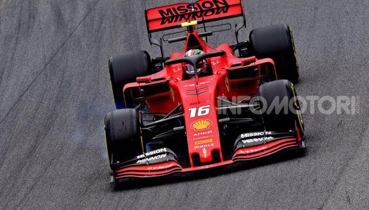 F1 2019, GP del Brasile: doppietta Ferrari nelle libere di Interlagos con Vettel davanti a Leclerc - Foto 8 di 12