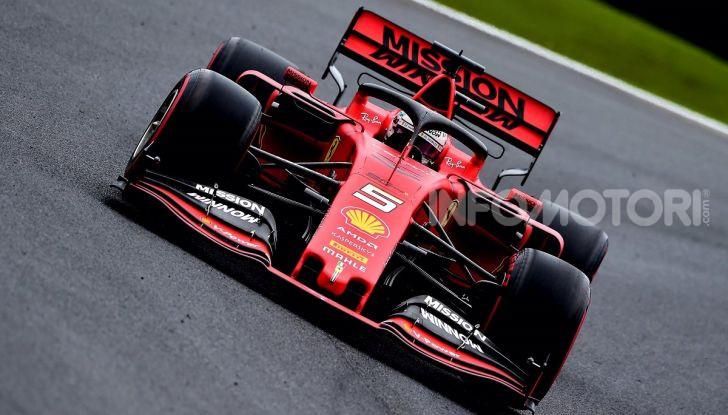 F1 2019, GP del Brasile: doppietta Ferrari nelle libere di Interlagos con Vettel davanti a Leclerc - Foto 7 di 12