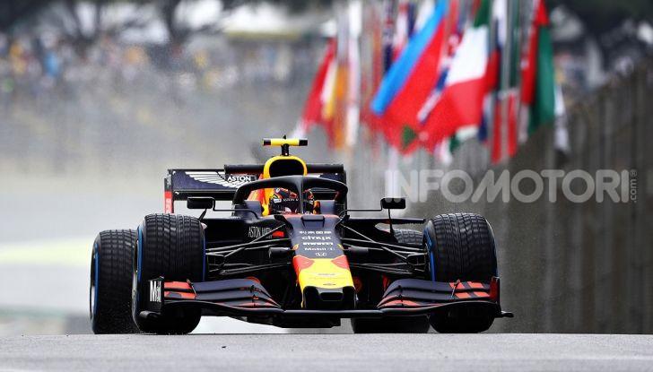 F1 2019, GP del Brasile: Max Verstappen firma la seconda pole position in carriera ad Interlagos - Foto 5 di 12