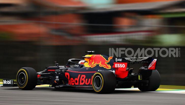 F1 2019, GP del Brasile: Max Verstappen firma la seconda pole position in carriera ad Interlagos - Foto 6 di 12