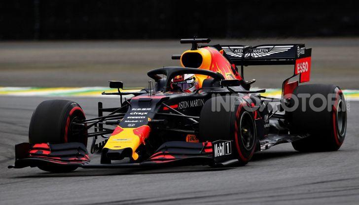 F1 2019, GP del Brasile: Max Verstappen firma la seconda pole position in carriera ad Interlagos - Foto 1 di 12