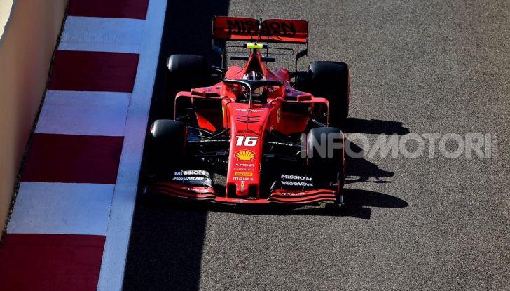 F1 2019, GP di Abu Dhabi: Hamilton vince l'ultima gara della stagione, la Ferrari terza con Leclerc - Foto 9 di 10