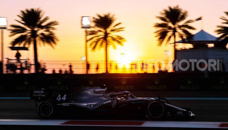 F1 2019, GP di Abu Dhabi: Bottas domina le libere del venerdì, la Ferrari insegue - Foto 4 di 10