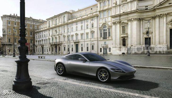 Video anteprima Ferrari Roma, la nuova dolce vita su ruote - Foto 5 di 52