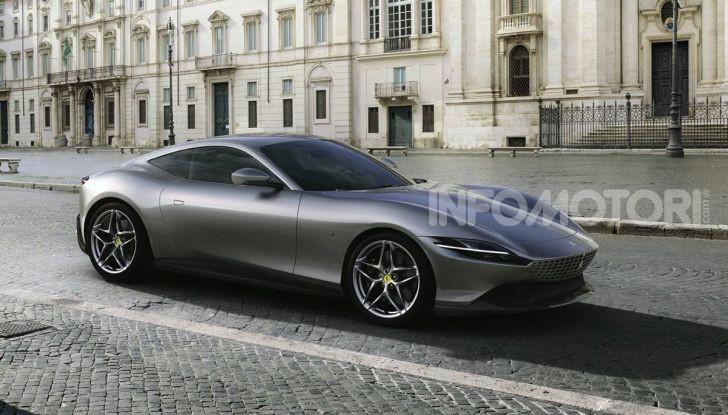 Video anteprima Ferrari Roma, la nuova dolce vita su ruote - Foto 6 di 52