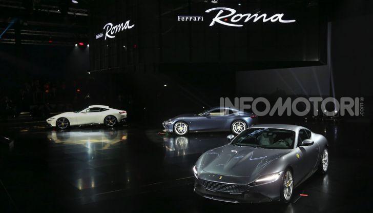 Video anteprima Ferrari Roma, la nuova dolce vita su ruote - Foto 1 di 52