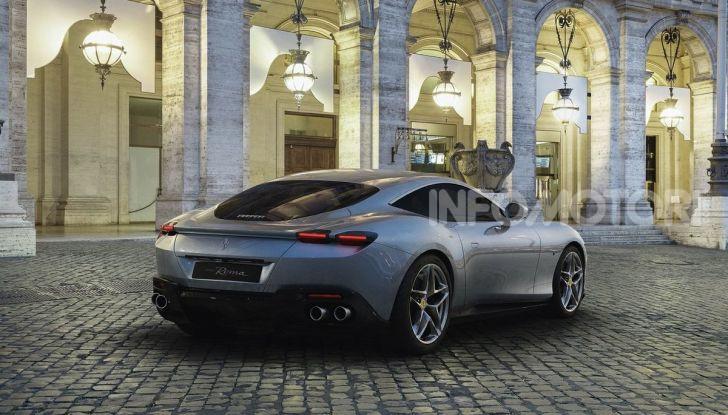 Video anteprima Ferrari Roma, la nuova dolce vita su ruote - Foto 2 di 52