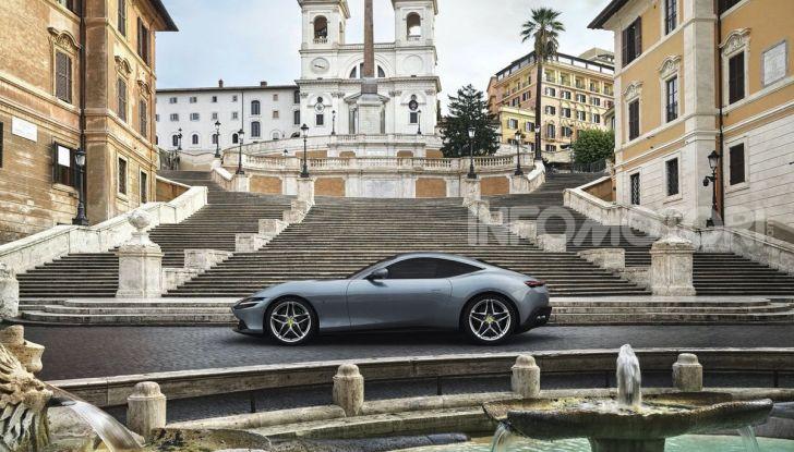 Video anteprima Ferrari Roma, la nuova dolce vita su ruote - Foto 3 di 52