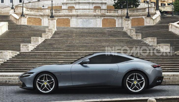 Video anteprima Ferrari Roma, la nuova dolce vita su ruote - Foto 4 di 52