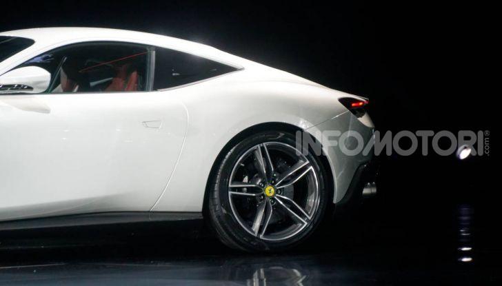 Video anteprima Ferrari Roma, la nuova dolce vita su ruote - Foto 10 di 52