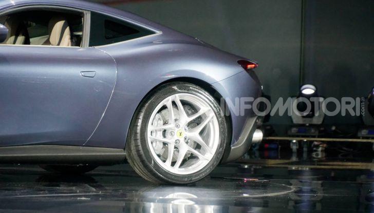 Video anteprima Ferrari Roma, la nuova dolce vita su ruote - Foto 11 di 52