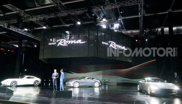 Video anteprima Ferrari Roma, la nuova dolce vita su ruote - Foto 13 di 52