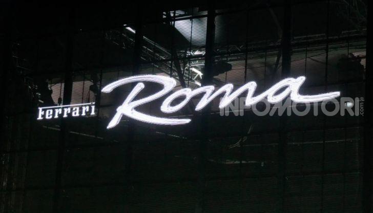 Video anteprima Ferrari Roma, la nuova dolce vita su ruote - Foto 14 di 52
