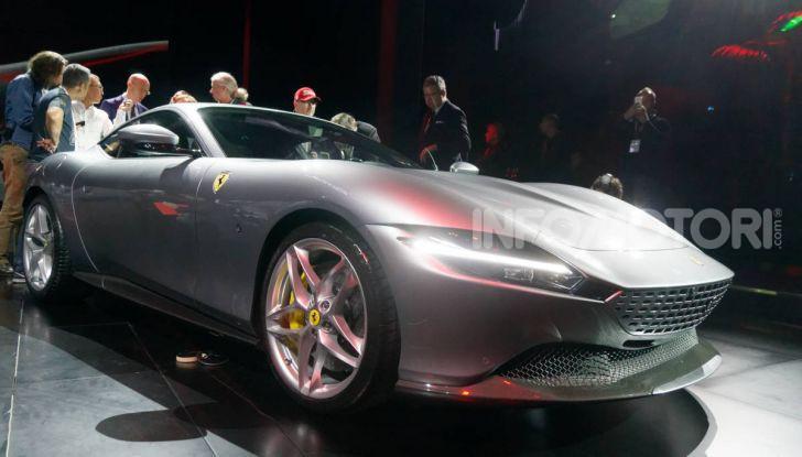 Video anteprima Ferrari Roma, la nuova dolce vita su ruote - Foto 15 di 52