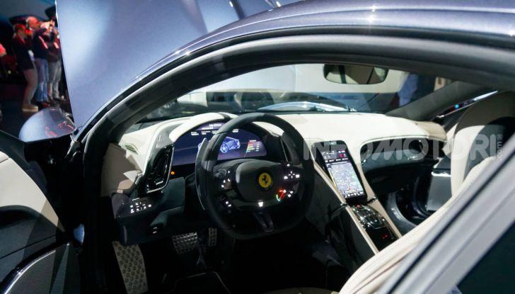 Video anteprima Ferrari Roma, la nuova dolce vita su ruote - Foto 27 di 52